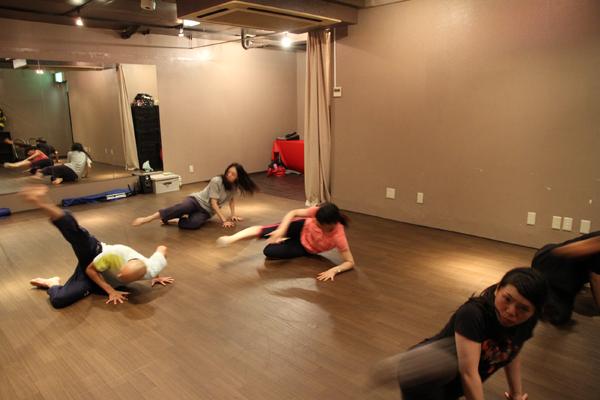 コンテンポラリーダンスインプロクラス