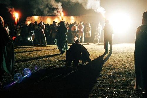 コTOBIU CAMP 火の儀式